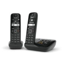Siemens - Gigaset AS690AR Duo zwart
