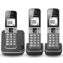 Panasonic - KX-TGD 313 zwart-grijs