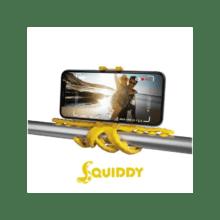Celly - Squiddy Ministatief voor Smartphones- geel