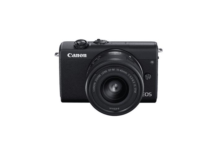 Canon - EOS M200+EF-M 3,5-6,3/15-45 mm IS STM zwart