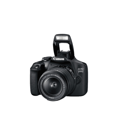 Canon - EOS 2000D+18-55 mm DC III