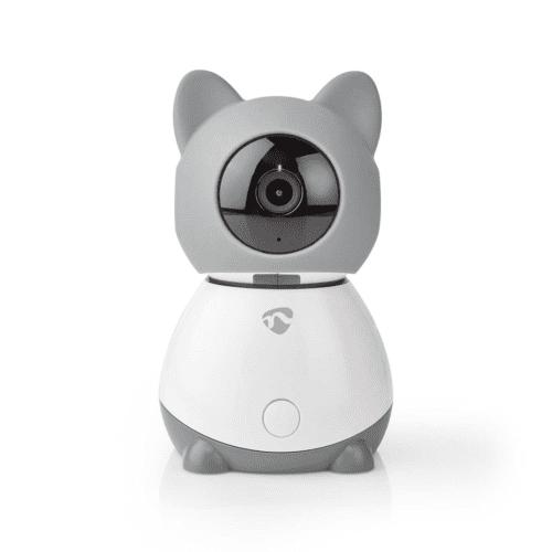 Nedis SmartLife Camera voor Binnen Wi-Fi Full HD 1080p Kiep en kantel Cloud / MicroSD Met