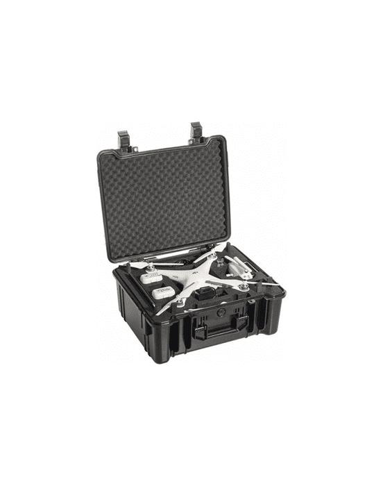 B&W - COPTER.CASE TYPE 61 BLACK / HARDFOAM DJI PHANTOM 3